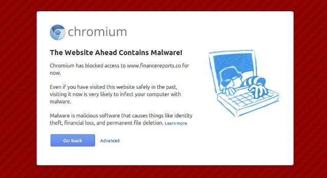 Bloqueo de Malware