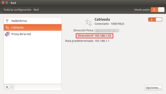 Comprobar IP