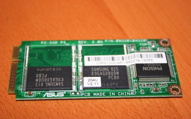 Memoria NAND disco SSD