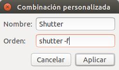Combinacion personalizada