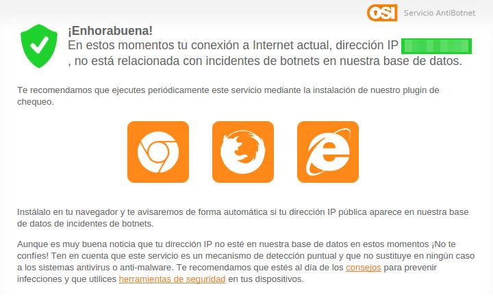 Servicio Anti-Botnet de OSI