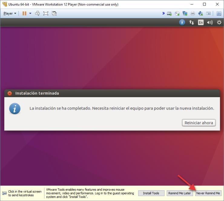 Finalizar la Instalación de Ubuntu en tu Máquina Virtual
