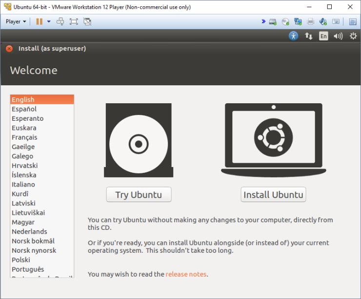 Instalar Ubuntu en tu Maquina Virtual