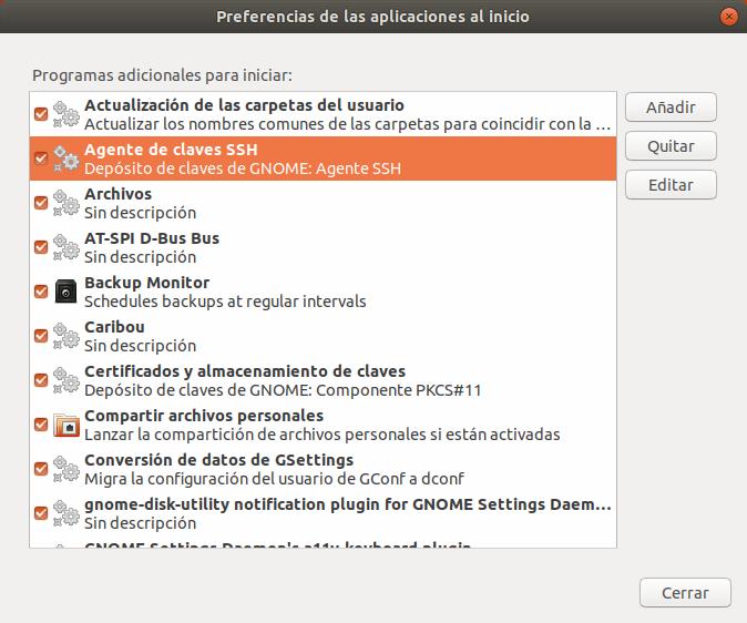 Ubuntu Ver Aplicaciones al Inicio en Vista Ampliada