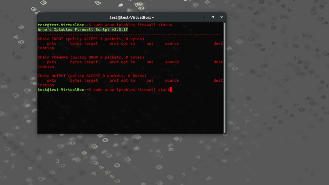 Gestionar el Cortafugos del Kernel Linux con Arno Iptables Firewall