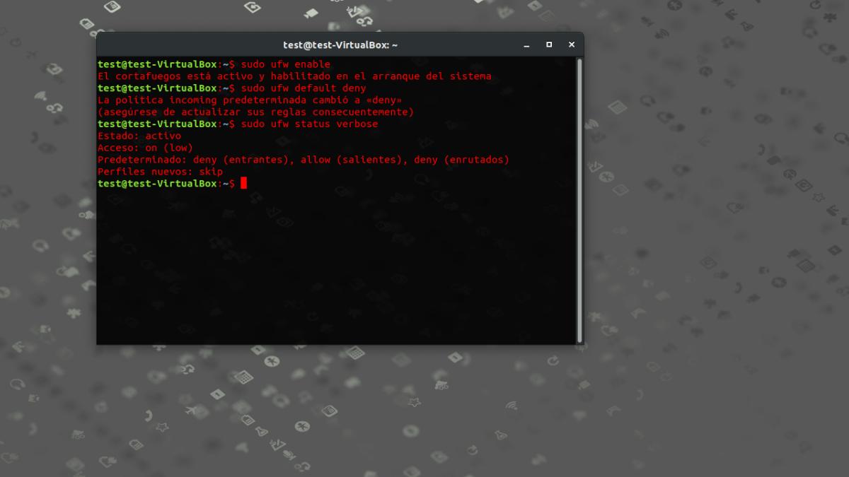 Gestionar el Cortafuegos del Kernel en Ubuntu con UFW