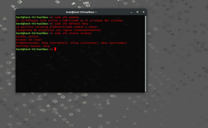Como Habilitar y Configurar el Firewall UFW enUbuntu