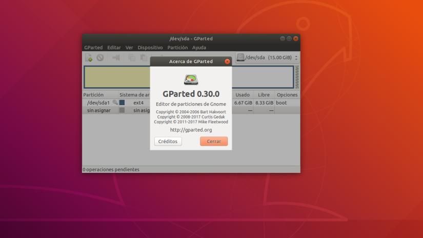 Como Crear y Editar Particiones desde Linux conGParted