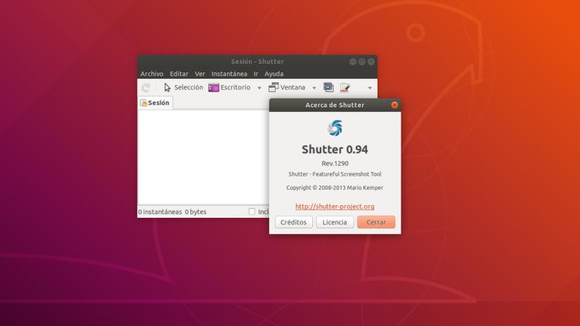 Shutter: Mejor Aplicación para Hacer Recortes de Pantalla en Linux