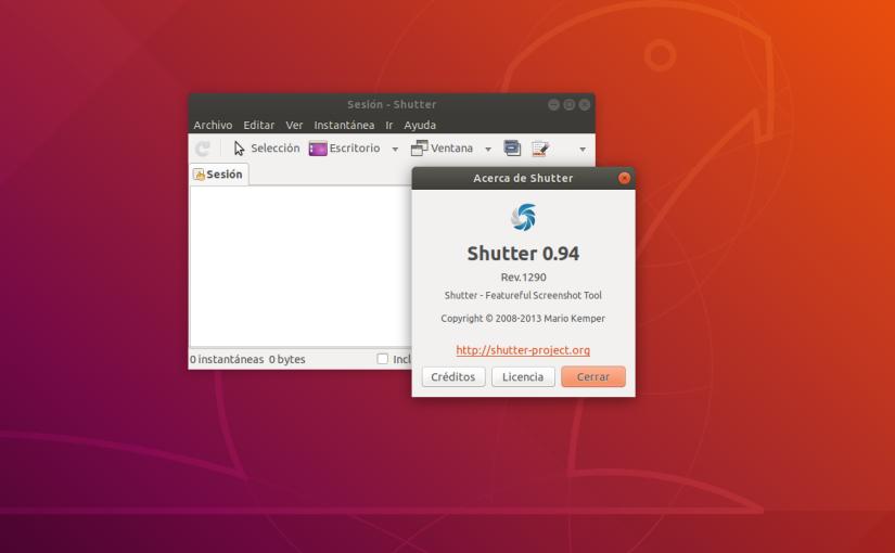 Shutter. La Mejor Aplicación para Hacer Capturas de Pantalla enLinux