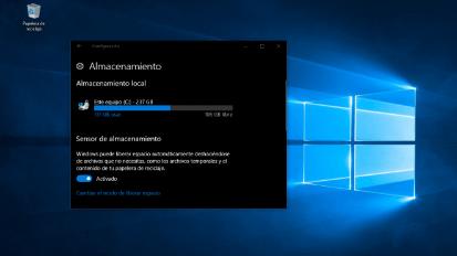 Windows 10. Liberar Espacio en Disco
