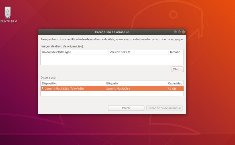 Crear un USB Booteable en GNU/Linux