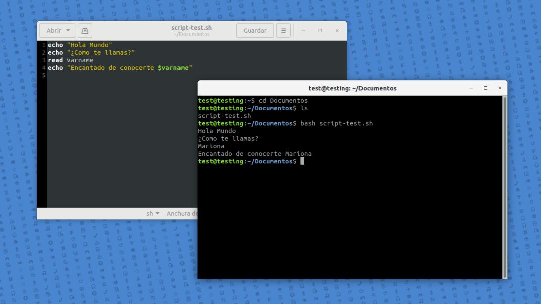 Scripting en GNU/Linux. Introducción