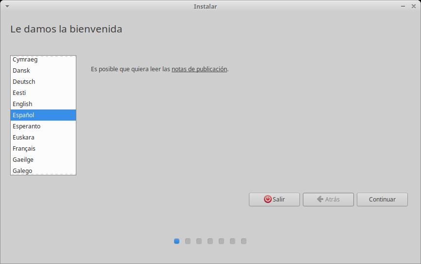 Instalación de Xubuntu: Inicio
