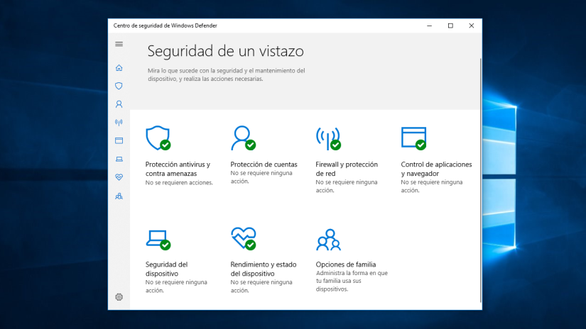 Windows Defender ya Puede Ejecutarse en Modo Sandbox en Windows 10