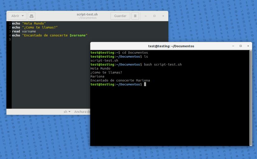 Scripting en Linux con Bash. Introducción al Entorno