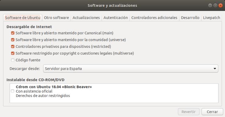 Repositorios de Software