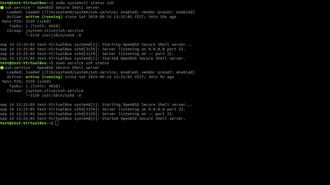 Terminal de Linux. Comandos Para Iniciar, Detener y Reiniciar Servicios