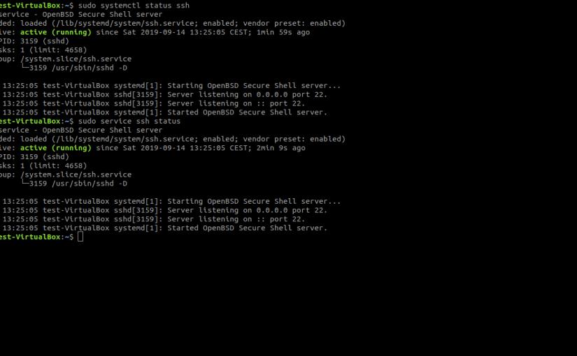 La Terminal de Linux (VIII). Iniciar, Detener o ReiniciarServicios