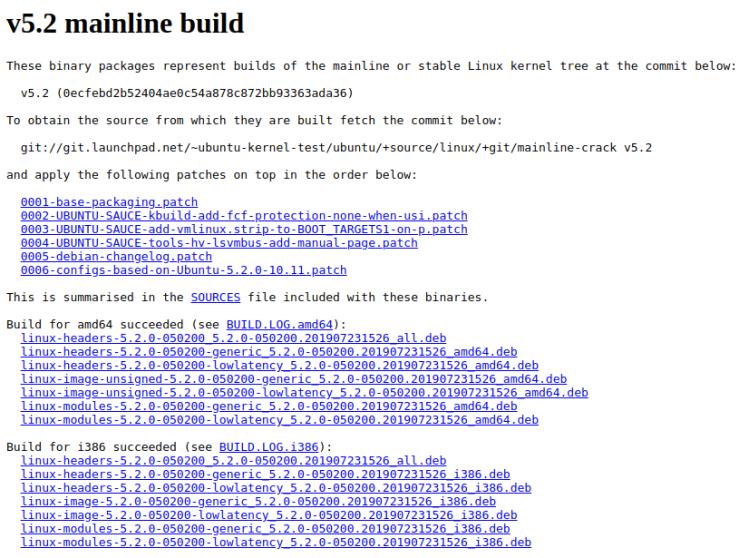 Ubuntu PPA. Linux Kernel